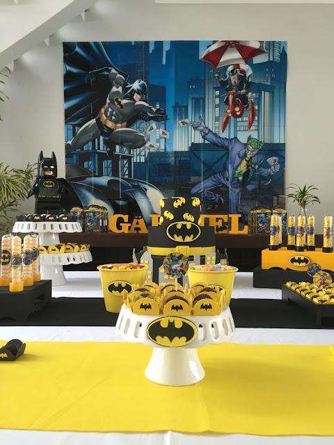 Festinha em Casa - Batman