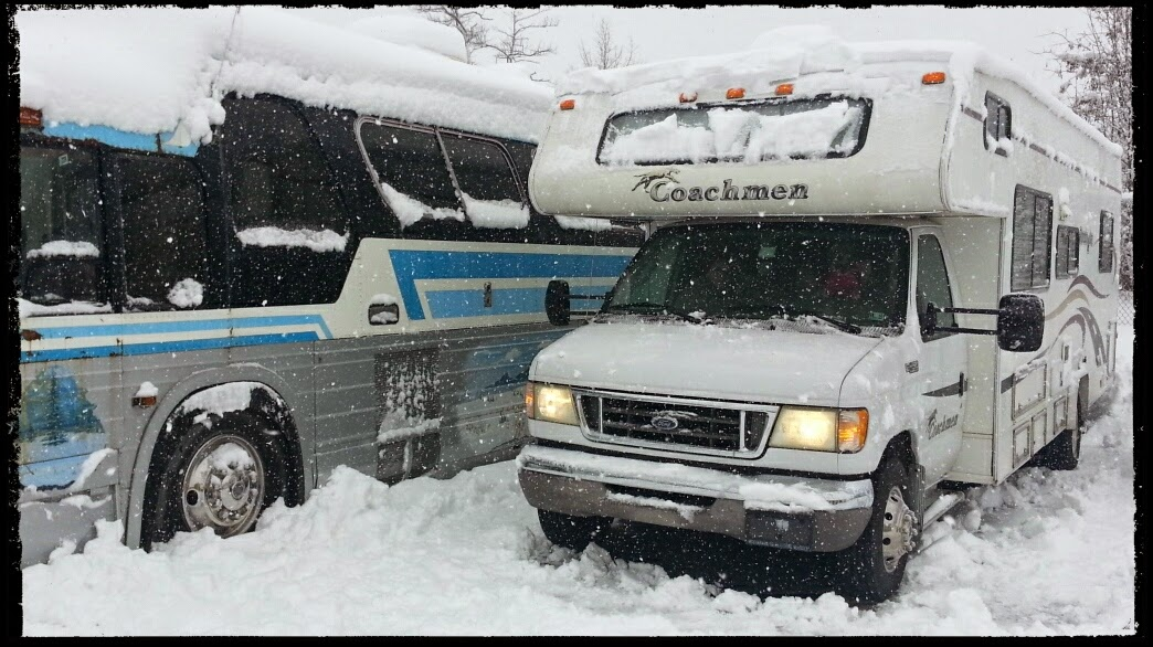 RoadAbode in the Snow!