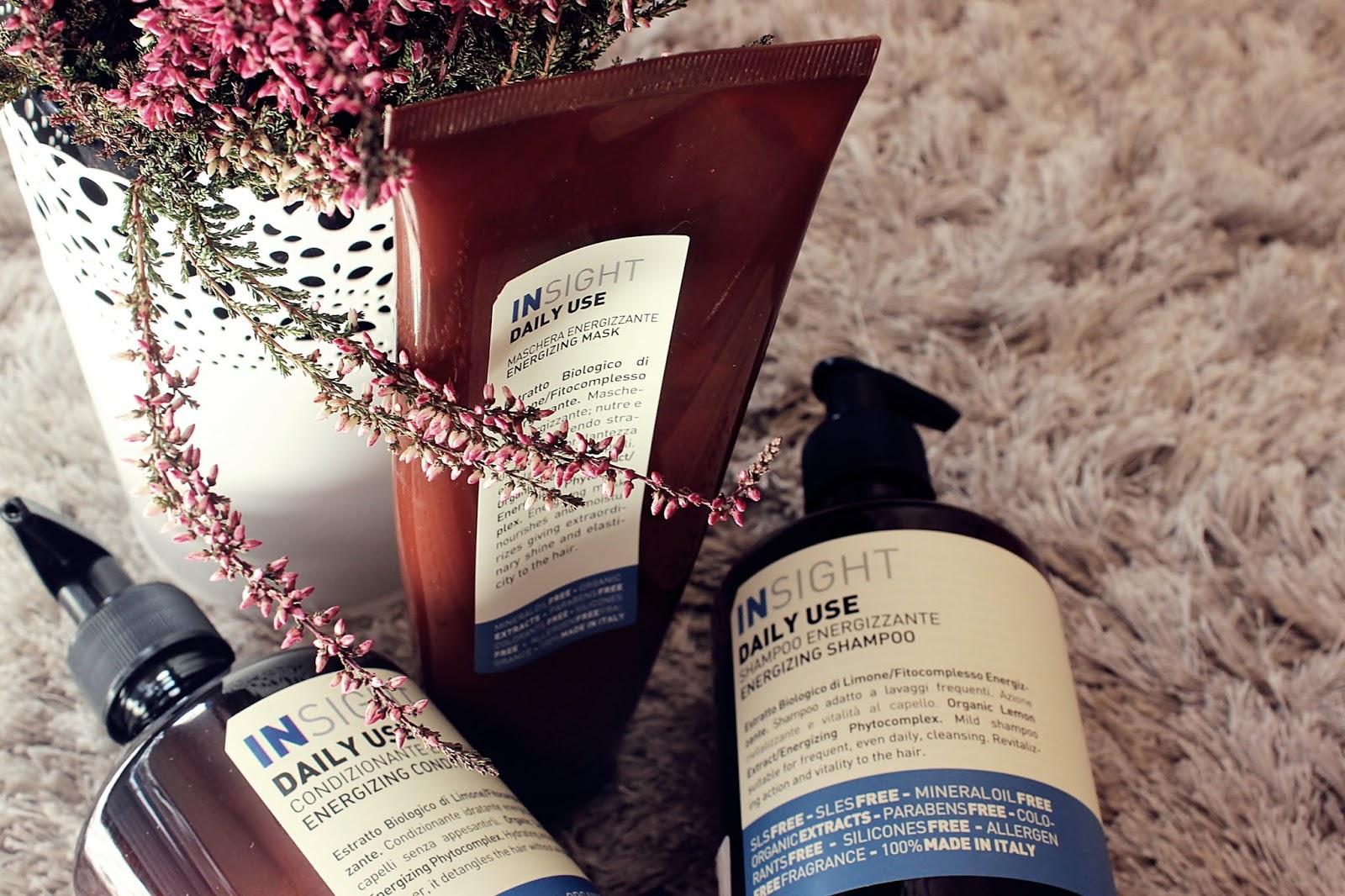 Insight, Daily Use - naturalne kosmetyki do codziennej pielęgnacji włosów