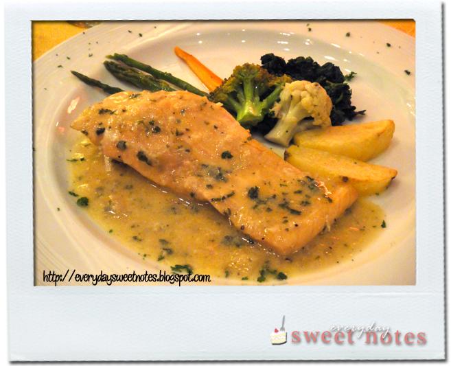 Italian Restaurant Fish Dish