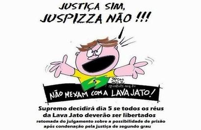 Juspizza não!