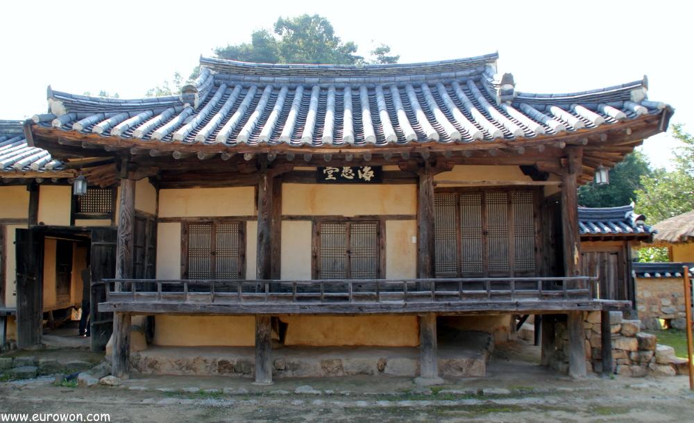 Casa tradicional coreana Haeudang de Museom