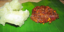Check this fiery hot chutney with tapioca..u'll love it!!!