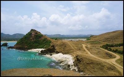 Pemandangan indah di Pantai Seger, Lombok Tengah