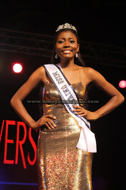 Miss Universe Ghana 2012 winner Gifty Ofori
