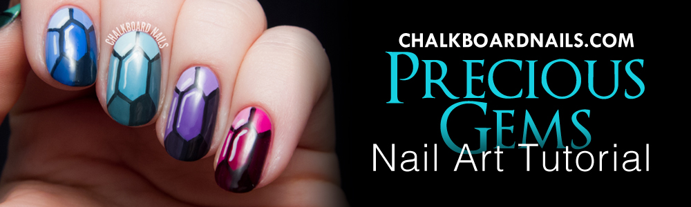 Jewel Nail Art Tutorial