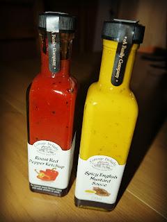 sauces, ketchup, mustard