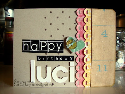 My Wise Designs: Happy Birthday Luci!
