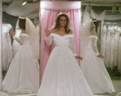 Alternate Wedding Dress From The Montage Scene In The Wedding Singer