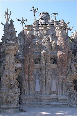 Ferdinand Cheval A Postman From France With Ideal Palace Seen On www.coolpicturegallery.us