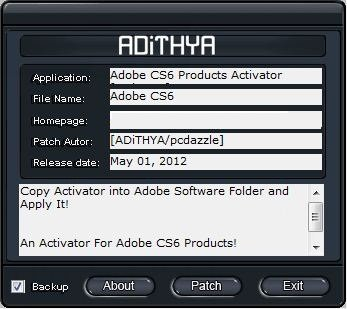 adobe cs6 crack file