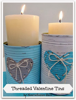 Threaded Valentine Tins