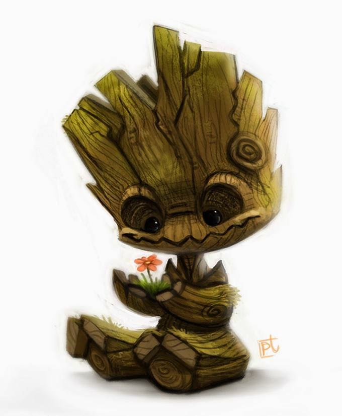 http://cryptid-creations.deviantart.com/art/Daily-Paint-628-Groot-474466568
