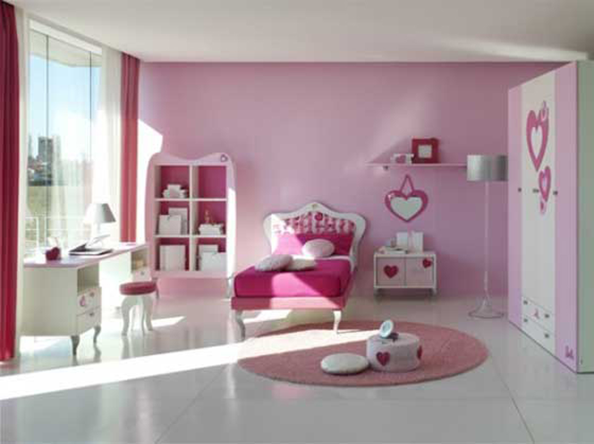 Home Interior Designs: Bedroom Designs for Teenage Girls