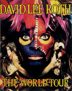 David Lee Roth World Tour 1986