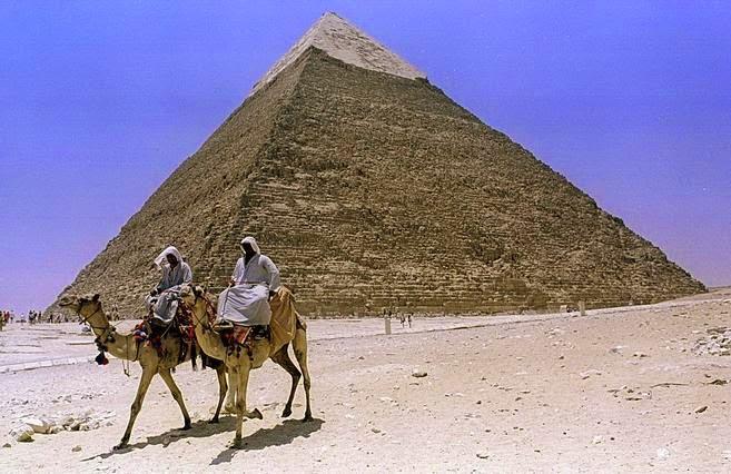 quien hizo las piramides de egipto teorias