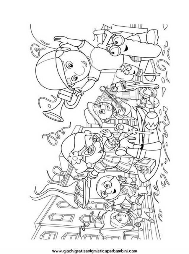 disegni da colorare  disegni da colorare  manny tuttofare