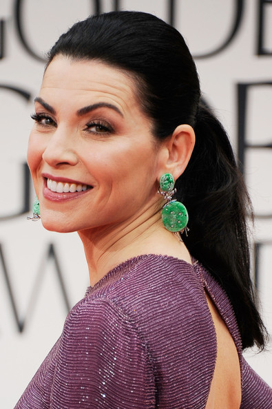 Hairstyle Photo Julianna Margulies Ponytail Hairstyle Lookbook