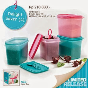DELIGHT SAVER TUPPERWARE