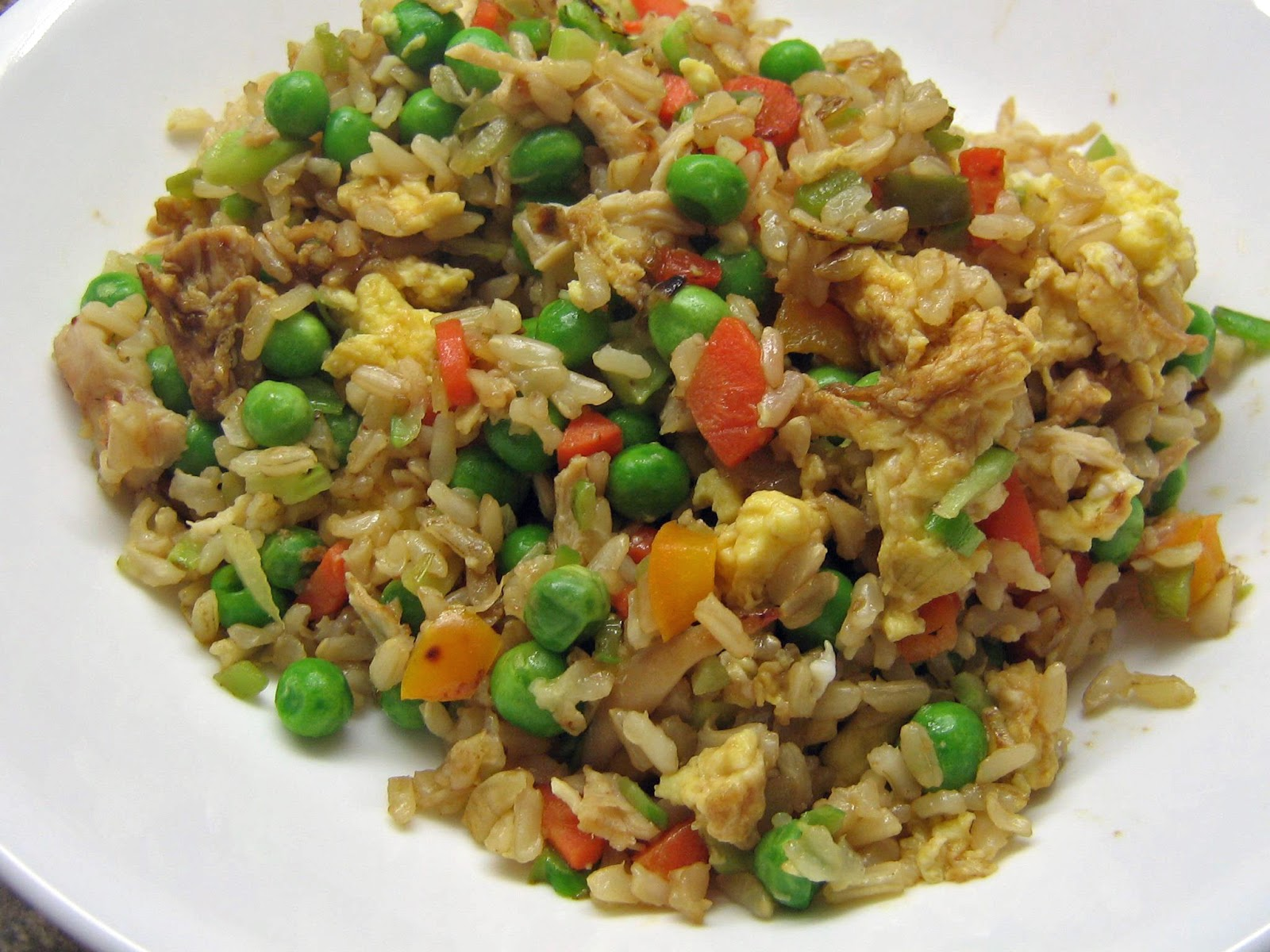 17 Day Diet Gal: Chicken Fried Rice (C2)