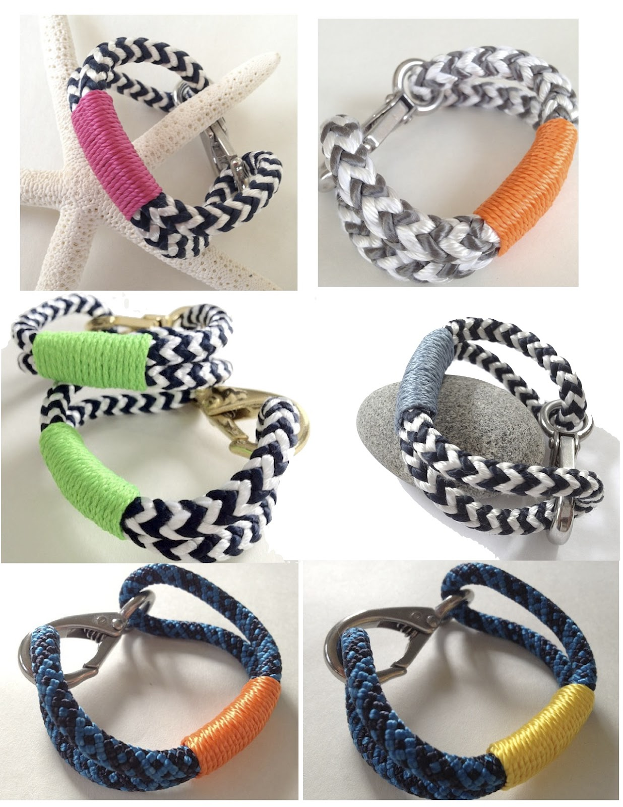 Foxtrot Musings Its Summer New Nautical Rope Bracelets