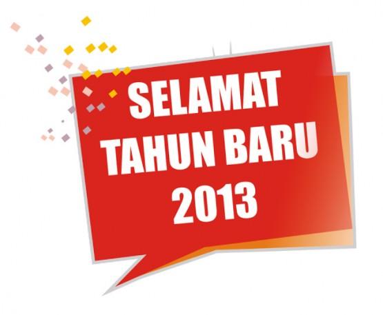 Ucapan Selamat Tahun Baru 2013 Buat SMSan BBMan