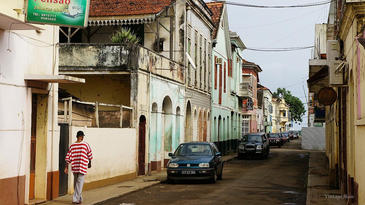 São Tomé city views聖多美市區1