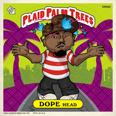Dopehead x Plaid Palm Trees