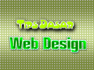 Tips Dasar Web Design