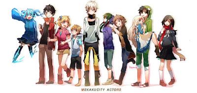 Phim Mekakucity Actors
