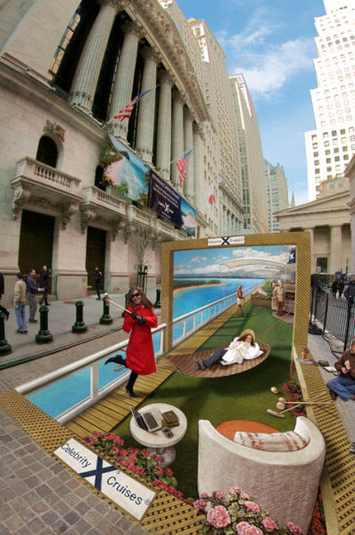 Awesome & Amazing Street Art By Kurt Wenner Seen On www.coolpicturegallery.us