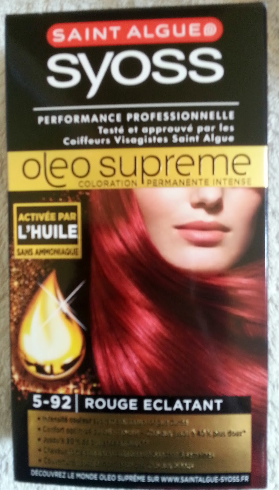 Coloration cheveux syoss prix