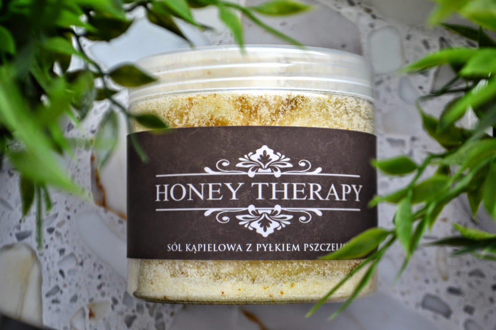 Honey Therapy. Sól kąpielowa z pyłkiem pszczelim.