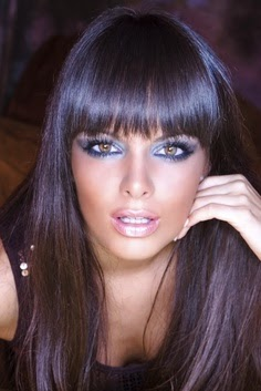 blue black dark hair color