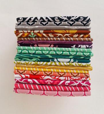 Joel Dewberry True Colors Fabric Stack
