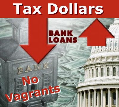 No Lending: Your Tax Dollars go into Banks and Stay There!
