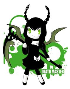 la muerte en dibujo manga