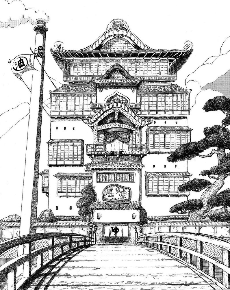 26-Kiyohiko-Azuma-Architectural-Urban-Sketches-and-Cityscape-Drawings-www-designstack-co