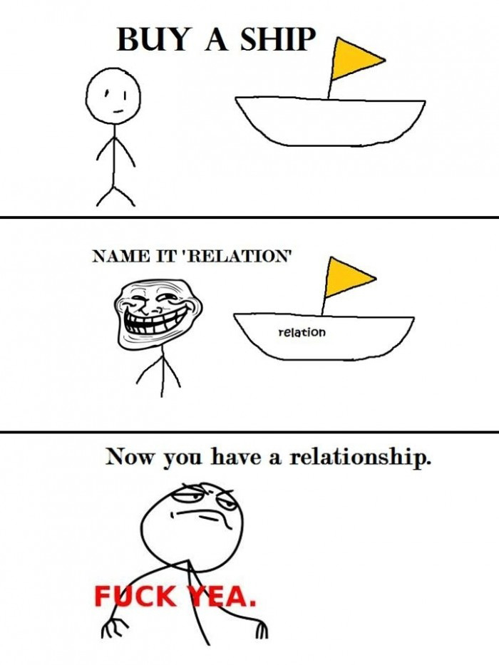 Buy A Ship - Name It Relation - Now You Have A Relationship