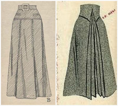 40s skrits (left: lutterloh 1941, right Marie Claire 1940)