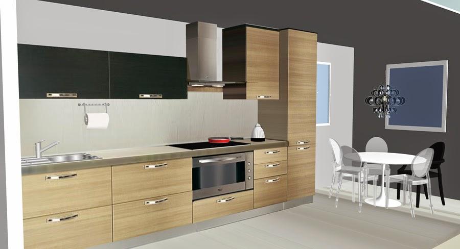 KITCHEN long and narrow Kuchnia długa i wąska  COBO DESIGN -> Kuchnia Ikea Czas Oczekiwania