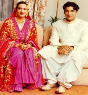 Wasim Akram Wedding Photos
