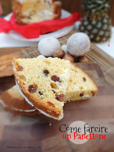 tutorial: come farcire un panettone