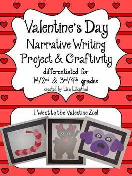http://www.teacherspayteachers.com/Product/Valentines-Day-Narrative-Writing-Project-Craftivity-496932
