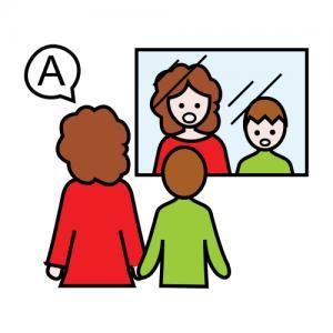 En nuestro blog usamos pictogramas
