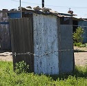 Bucket Toilet in Mangaung.