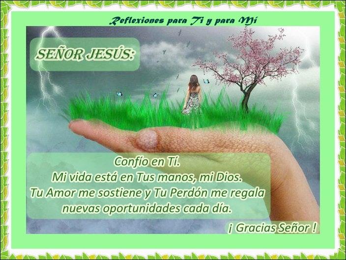 Oraciones para ti y para m se or jes s conf o en ti for En tus manos senor