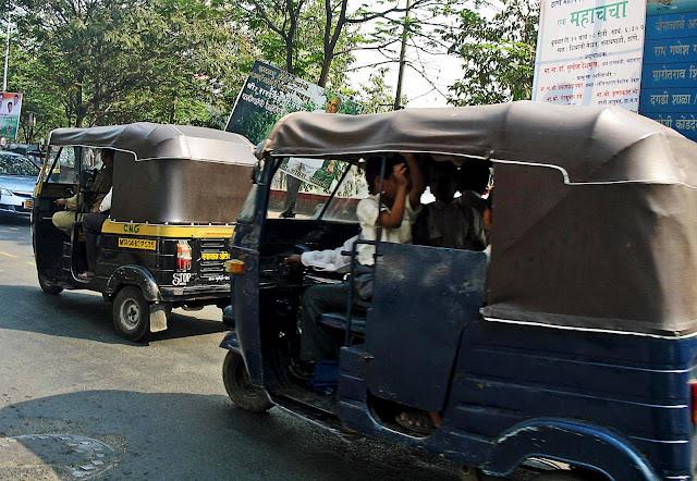 school auto rickshaw