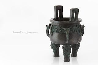 Китайский ритуальный сосуд дин