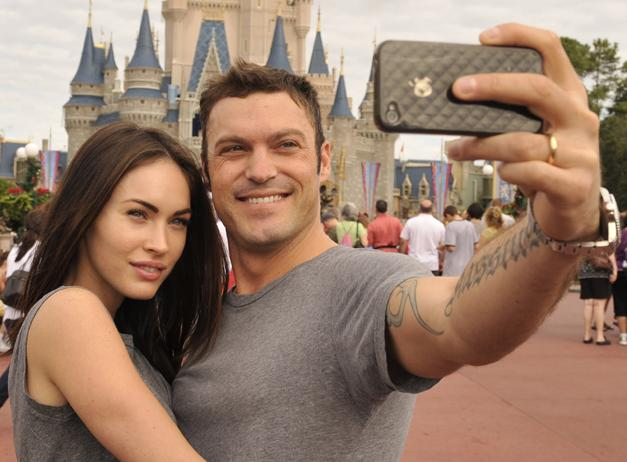 Megan Fox With Husband New Pictures 2012